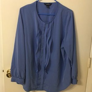 The outfitters by lands end blue blouse